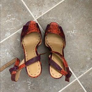 Ninewest platform heels